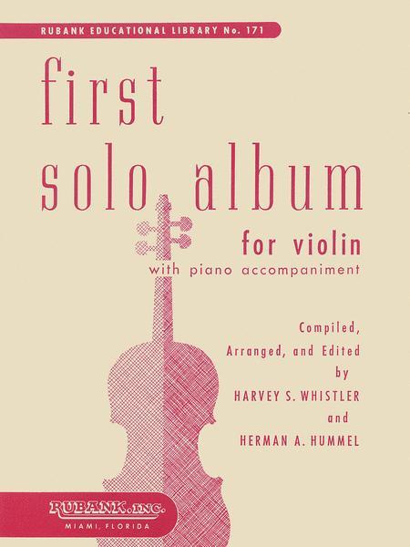 First Solo Album for Violin
