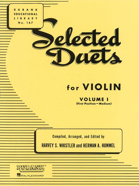 Selected Duets for Violin - Volume 1