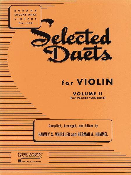 Selected Duets for Violin - Volume 2