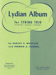 Lydian Album (Complete, String Parts And Piano)