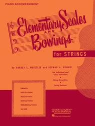 Elementary Scales And Bowings - Piano Accompaniment