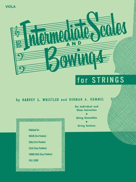 Intermediate Scales And Bowings - Viola