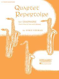Quartet Repertoire for Saxophone - Bb Tenor