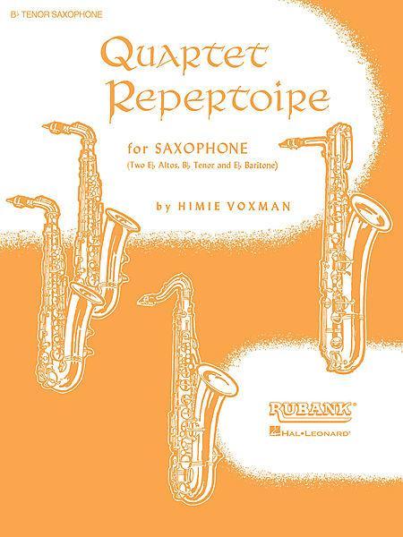 Quartet Repertoire for Saxophone - Eb Baritone