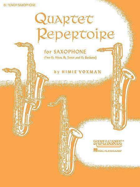 Quartet Repertoire for Saxophone - Full Score