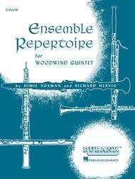 Ensemble Repertoire for Woodwind Quintet - Flute