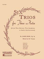 Six Trios for Three Flutes, Op. 83