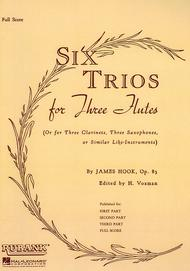 Six Trios for Three Flutes, Op. 83