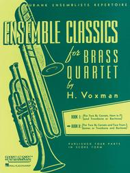 Ensemble Classics Series Brass Quartets - Volume 2