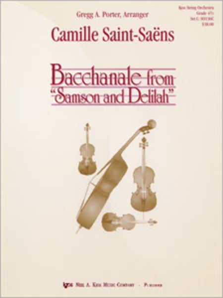 Bacchanale From Samson And Delilah