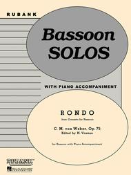 Rondo (from Concerto for Bassoon, Op. 75)