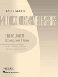 Solo de Concert, Op. 83