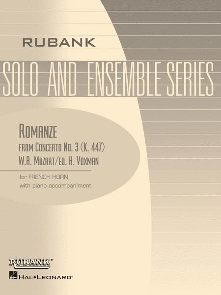 Romanze (from Concerto No. 3, K. 447)