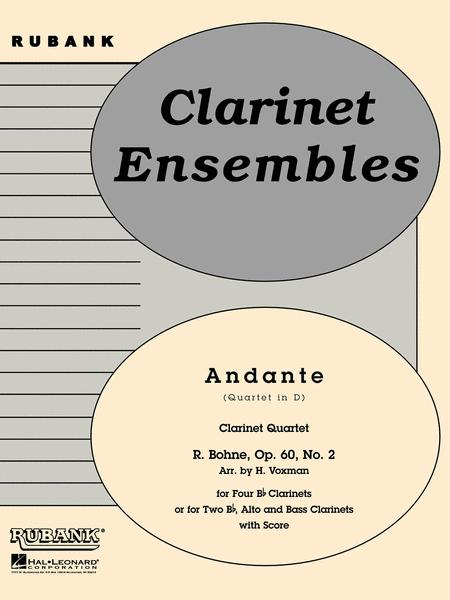 Andante (from Quartet in D, Op. 60 No. 2)