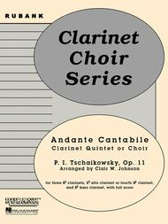 Andante Cantabile (from Quartet, Op. 11)