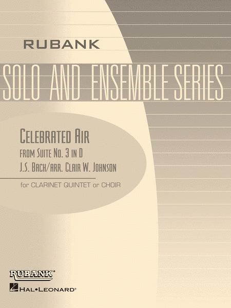 Celebrated Air (from Suite No. 3 in D)