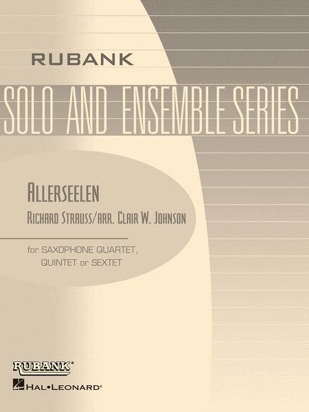 Allerseelen (Op. 10, No. 8)