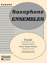 Finale from (Quartet, Op. 9 No. 3)
