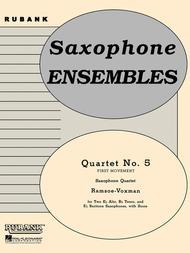 Quartet No. 5 (First Movement)