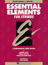 Essential Elements for Strings - Book 1 (Teacher's Manual)