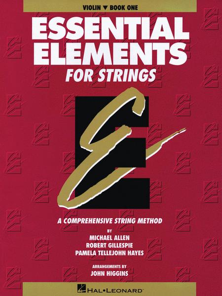 Essential Elements for Strings Book 1 (Violin)