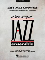 Easy Jazz Favorites - Tenor Sax 1
