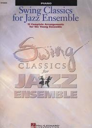 Swing Classics for Jazz Ensemble - Piano