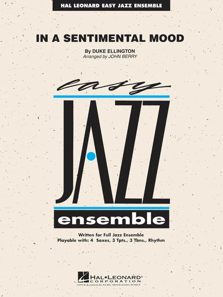 In A Sentimental Mood Sheet Music By Duke Ellington Irving Mills