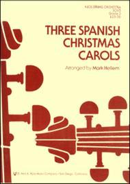 three spanish christmas carols string set