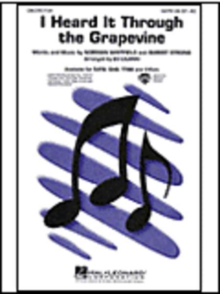 I Heard It Through the Grapevine - ShowTrax CD