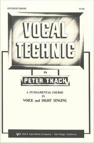 Vocal Technic, Student Book