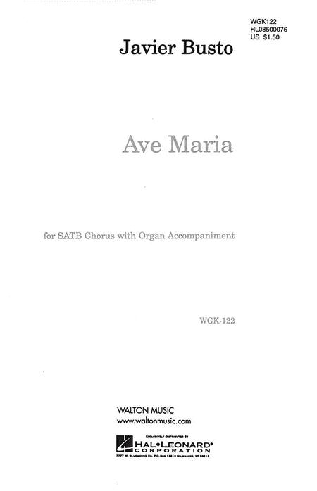 Ave Maria - SATB