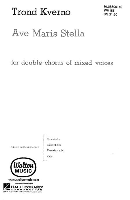 Ave Maris Stella - SATB Double Choir