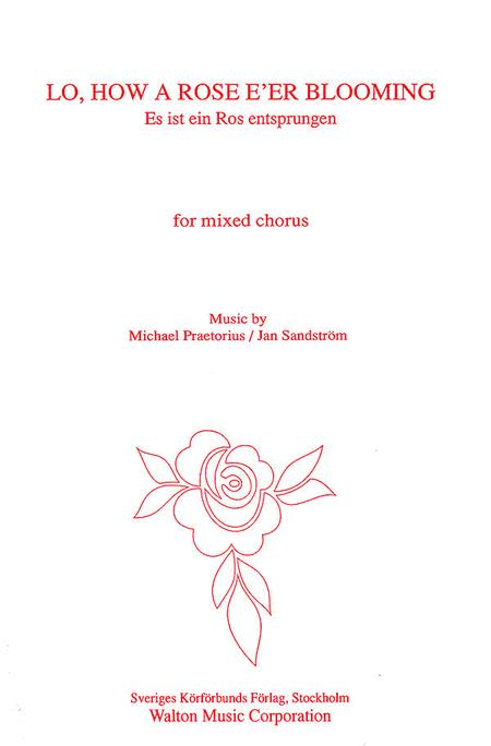 Lo How a Rose E'er Blooming (SATB Double Choir)
