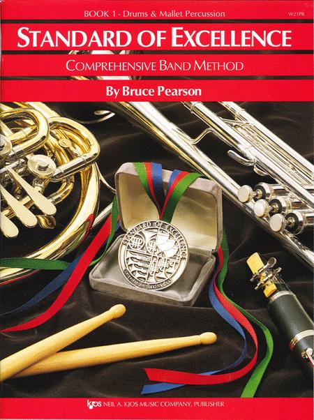 Standard of Excellence Book 1, Drums & Mallet Percussion