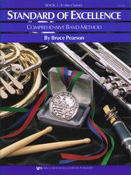 Standard of Excellence Book 2, Alto Clarinet