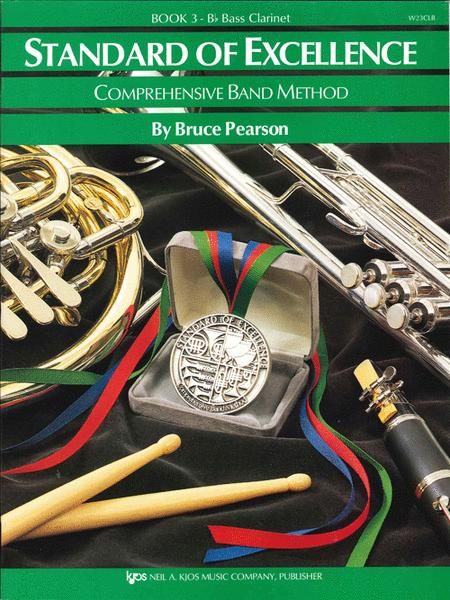 Standard of Excellence Book 3, Bass Clarinet