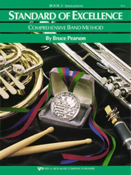 Standard of Excellence Book 3, Alto Sax