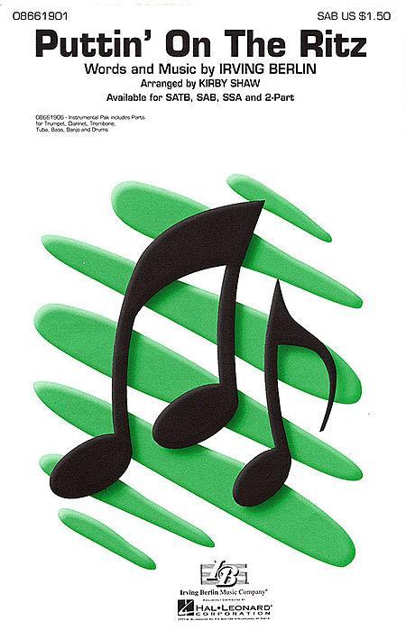 Puttin' On the Ritz - ShowTrax CD