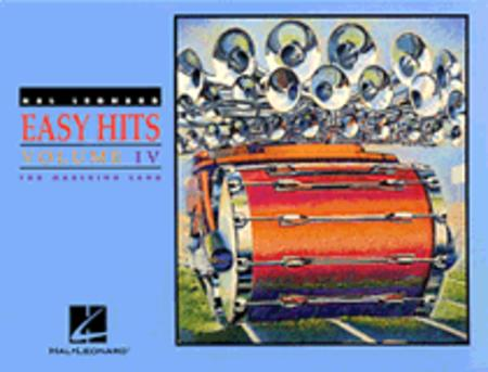 Hal Leonard Easy Hits for Marching Band Vol. IV - Cymbals
