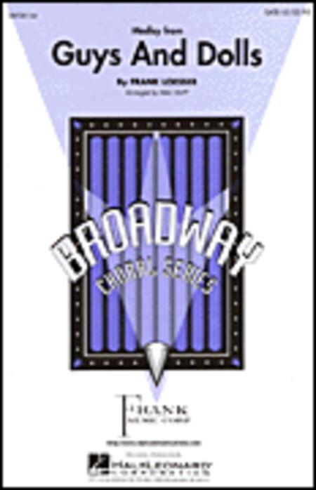 Guys and Dolls (Medley) - ShowTrax CD