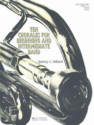 Ten Chorales For Beginning/Intermediate Band - Score