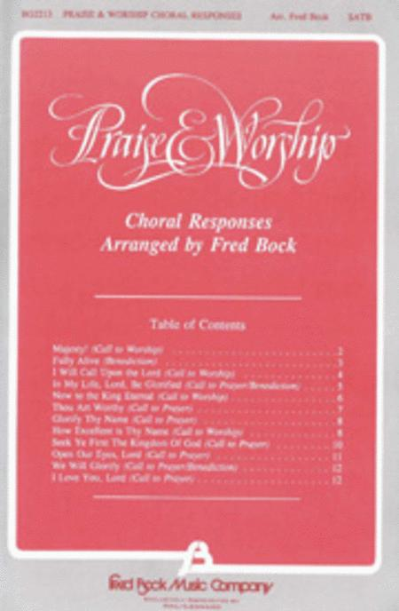 Praise and Worship Choral Responses (Collection)