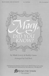 Mary, Did You Know? (SSA Choir & Piano)