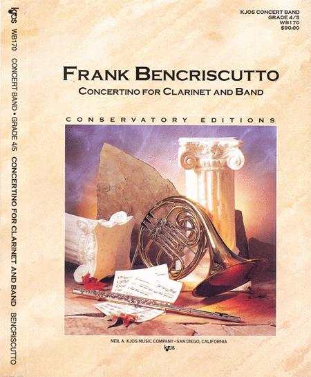 Concertino For Clarinet & Band
