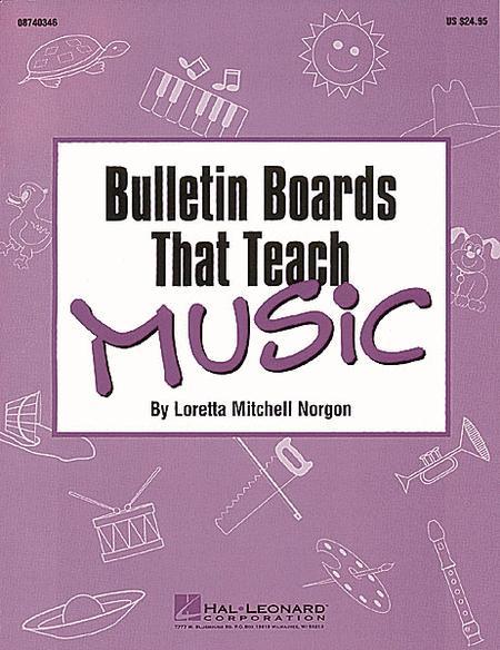 Bulletin Boards That Teach Music