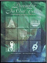 December in Our Town (A Multicultural Holiday Musical) - ShowTrax CD