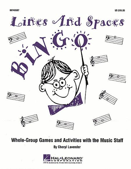 Lines and Spaces Bingo