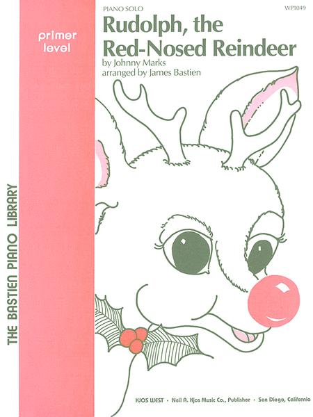 Rudolph The Red-Nosed Reindeer Sheet Music By James Bastien - Sheet ...
