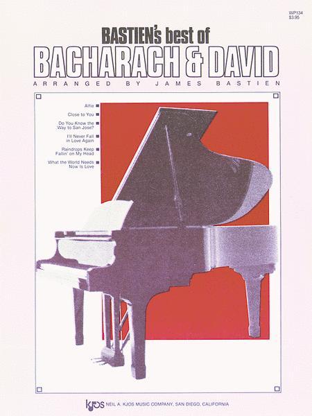 Bastien's Best Of Bacharach-david